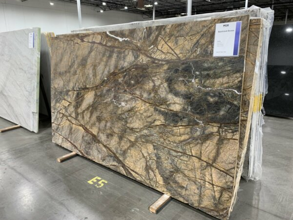 Rainforest Brown Marble 3cm MGX$48.99 Per Sq. Ft. Installed